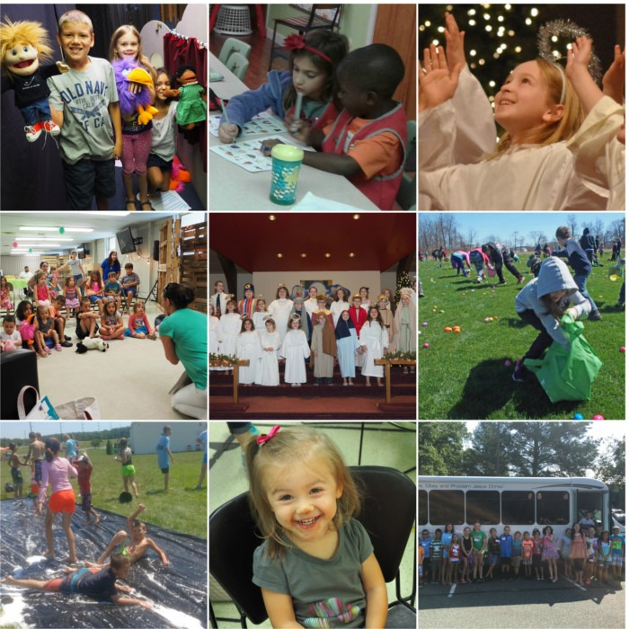 childrens ministry collage